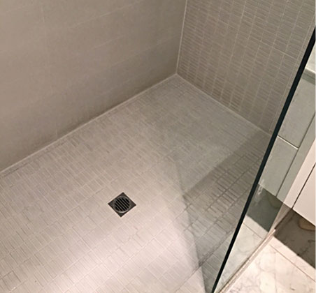Budget seal bathroom floor